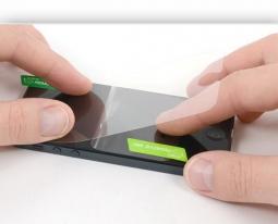 Профессиональная наклейка стекла на смартфон (стекло приобретается отдельно)