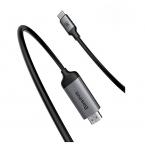 Кабель Baseus C-Video Functional Notebook, с USB-C на USB-C, тёмно-серый