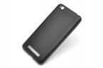 Силиконовый чехол Сherry для Xiaomi redmi 4a Черный