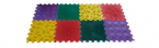 Детские массажные (ортопедические) модульные коврики «ОРТО ПАЗЛ» (Микс Универсальный)