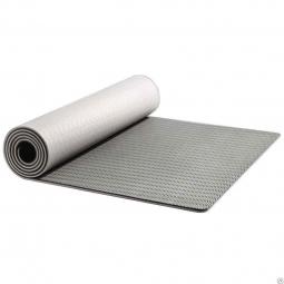Коврик для йоги Xiaomi Double-Sided Non-Slip Yoga Mat (Серый)