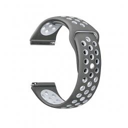 Сменный браслет Amazfit Bip Sport (Серый с белым)