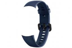 Сменный силиконовый ремешок для Huawei Honor Band 4 темно синий