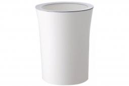 Мусорный бак с нажимным кольцом Xiaomi Mijia Storage Barrels Rubbish Box With Pressure Ring 10L White (белый)