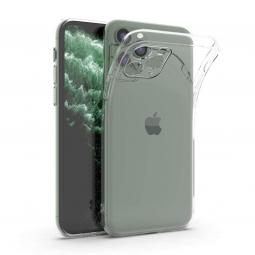 Противоударный силиконовый чехол для Iphone 11 Pro (Прозрачный)