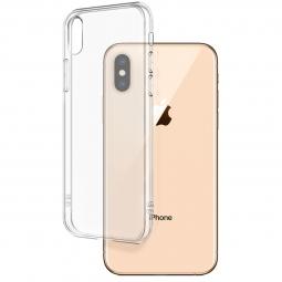 Противоударный силиконовый чехол Monarch для Iphone Xs (Прозрачный)