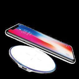 Беспроводное зарядное устройство X-Doria Peebble Fast Charge White