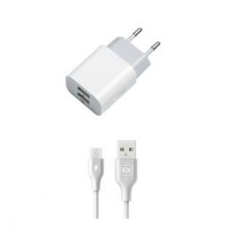 Сетевое ЗУ Monarch Universal Home Charger 2A USB с кабелем microUSB