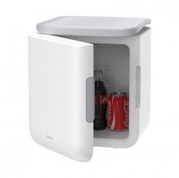 Мини-холодильник Baseus Igloo Mini Fridge 6L Cooler and Warmer 220V EU White (ACXBW-A02 )