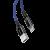 Кабель Baseus C-shaped Light Intelligent cable Lightning USB 1м