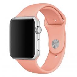 Силиконовый ремешок для Apple Watch 44/42 mm, кремовый