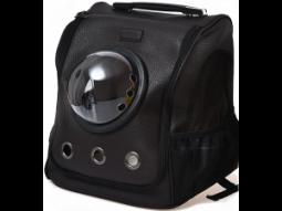 Переноска-рюкзак для животных Xiaomi Small Animal Star Space Capsule Shoulder Bag, черный