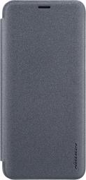 Чехол книжка NILLKIN Sparkle leather case для Xiaomi Mi Max 3 (Gray)
