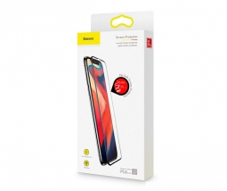 Защитное стекло для iPhone XR Baseus Сurved-Screen Protector With Crack-Resistant Edges 0.23 mm