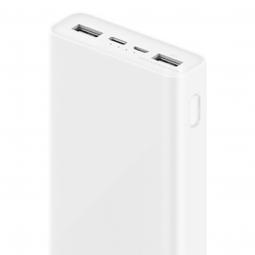 Внешний аккумулятор Xiaomi Mi Power Bank 3 20000 Fast Charge QC3.0 Белый (PLM18ZM)