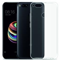 Силиконовый чехол для Xiaomi Mi A1 (прозрачный)