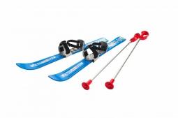 Детские лыжи с палками и креплениями Gismo Riders Baby Ski, 70 см (Чехия) (синий)