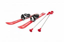 Детские лыжи с палками и креплениями Gismo Riders Baby Ski, 70 см (Чехия) (красный)