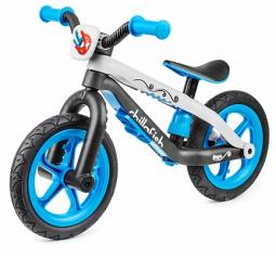 Легкий детский беговел в стиле трюкового Chillafish BMXie-RS (синий)