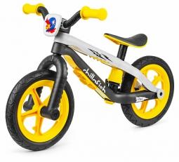 Легкий детский беговел в стиле трюкового Chillafish BMXie-RS (желтый)