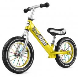 Легкий алюминиевый детский беговел Small Rider Foot Racer Air (золотой)