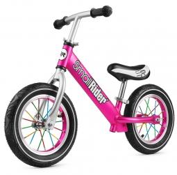Легкий алюминиевый детский беговел Small Rider Foot Racer Air (пурпурный)