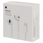 Проводная Стерео Гарнитура Apple EarPods with Lightning Connector (A1748) White (074139)