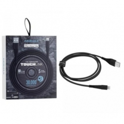 Кабель MoMax Tough Link Cable MFi 120cm Lightning Black