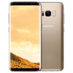 Смартфон Samsung Galaxy S8 64GB Samsung Galaxy S8 Желтый топаз (SM-G950FD)