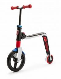 Детский беговел-самокат Scoot&Ride Highway Freak (бело-красно-синий)