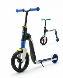 Детский беговел-самокат Scoot&Ride Highway Freak (бело-синий)