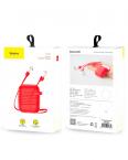 Силиконовый чехол Baseus Case для AirPods (Красный)
