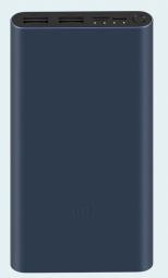Внешний аккумулятор Xiaomi Mi Power Bank 3 10000mAh Quick Charge (PLM13ZM) Black