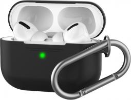Силиконовый кейс для AirPods Pro Black (черный)