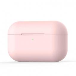 Силиконовый кейс для AirPods Pro Usams Pink (розовый)