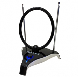 Комнатная антенна с усилителем для цифрового ТВ Selenga 105A (DVB-T2/DVB-C)