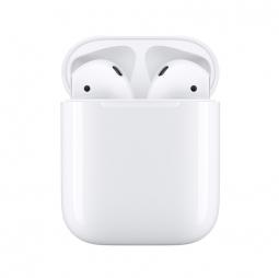 Беспроводные наушники Apple AirPods 2 White (без беспроводной зарядки чехла) (MV7N2)