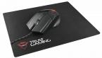 Trust GXT 782, Black Red игровая мышь + коврик