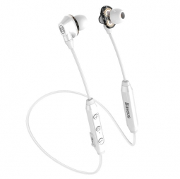 Беспроводные наушники Baseus Encok Dual Moving-coil Wireless Headset S10 (White) (NGS10-01)