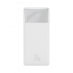 Внешний аккумулятор Baseus Bipow Digital Display Power bank 10000mAh 20W Белый (PPDML-L02)
