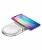 Беспроводное зарядное устройство Baseus Dual Wireless Charger plastic White на два устройства