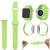 Силиконовый ремешок для Apple Watch 44/42 mm, салатовый