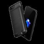 Чехол-аккумулятор Baseus Power Bank Case 3650mah для iPhone 7 Plus Черный