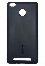 Силиконовый чехол Cherry Case для Xiaomi Redmi 3 Pro / Redmi 3S Черный