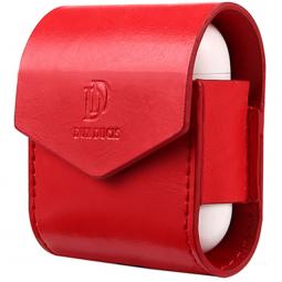 Защитный Чехол Dux Ducis для зарядного футляра Apple Airpods красный