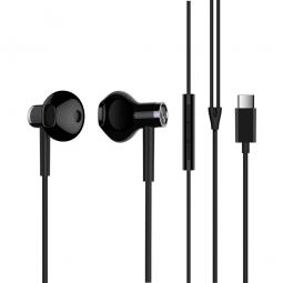 Наушники с микрофоном Xiaomi Mi Dual-Unit Semi-in-Ear Ceramic Type C Black (черные)