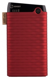 Внешний аккумулятор SENSEIT Z10 6000mah Red