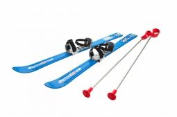 Детские лыжи с палками и креплениями Gismo Riders Baby Ski, 90 см (Чехия) (синий)