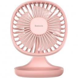Настольный вентилятор Baseus Pudding-Shaped Fan розовый