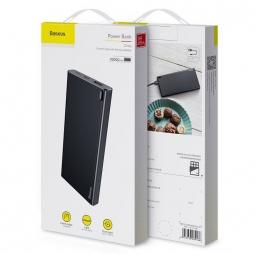 Внешний аккумулятор Baseus Choc Power Bank 10000mAh, черный